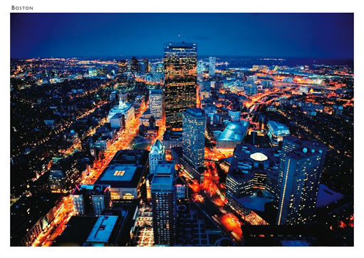 Boston Nightline Postcard